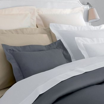 Olympe 1200 Oxford pillowcase, 65 x 65cm, white