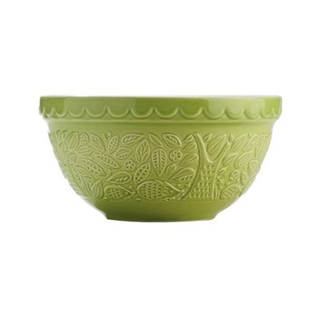 Hedgehog Embossed Mixing bowl, 21cm, green