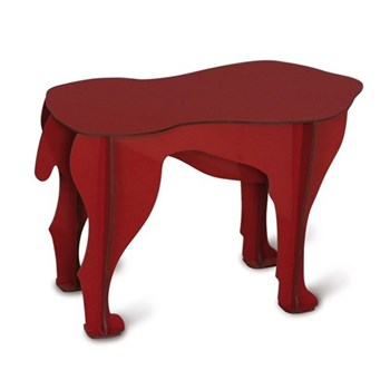 Dog stool/side table H34 x L52 x W25cm