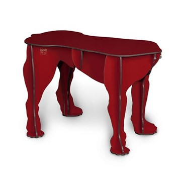 Large dog stool/side table H45 x L70 x W31cm