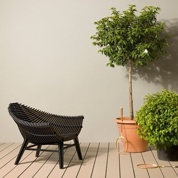 Armchair suitable for both indoors and outdoors H75 x L102 x W90cm