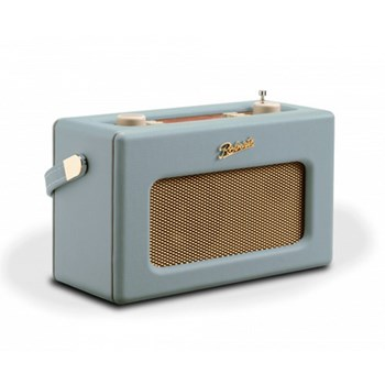 Revival RD70 DAB digital radio, H16 x W25.2 x D10.4cm, duck egg