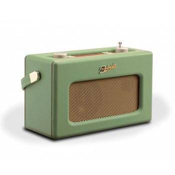 Revival RD70 DAB digital radio, H16 x W25.2 x D10.4cm, leaf green