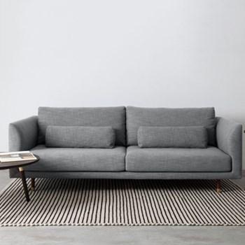 Jules 3 seater sofa, H82 x W223 x D100cm, austria grey