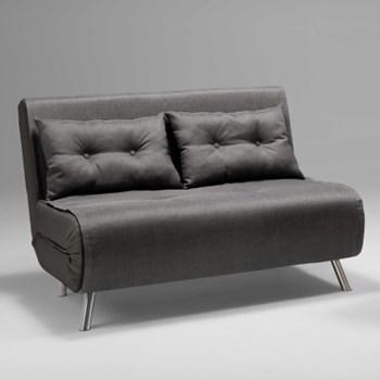 Haru Small sofa bed, H81 x W122 x D88cm, cygnet grey