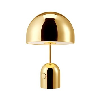 Bell Table lamp, D28 x H44cm, brass