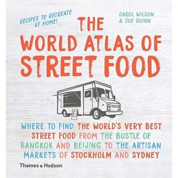 World Atlas of Street Food 234 x 220mm