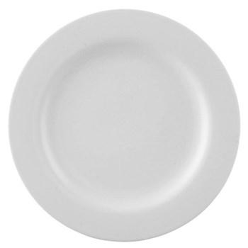 Moon Plate, 18cm, white