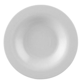 Moon Soup plate, 24cm, white