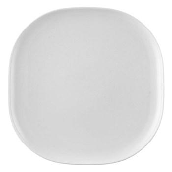 Moon Platter, 31 x 31cm, white