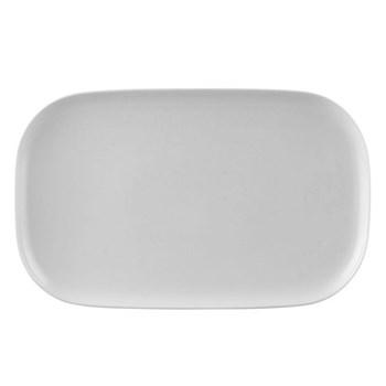 Moon Platter, 38 x 24cm, white