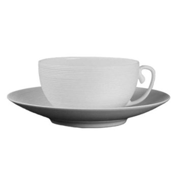 Hemisphere Teacup, 23cl, white