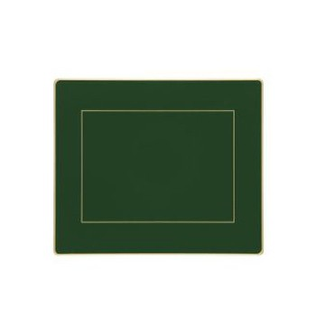 Set of 6 tablemats with frame line 24 x 20cm