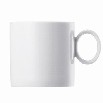 Loft Mug with handle, white