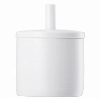 Loft Sugar bowl 3 with lid, white