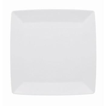 Loft Plate square flat, 27cm, white