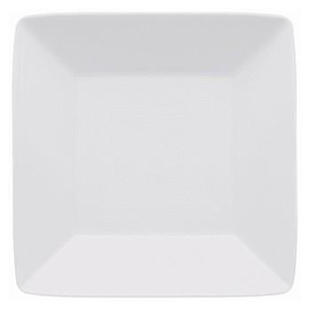 Loft Platter square deep, 22cm, white