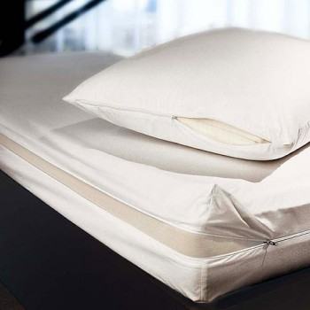 King size padded mattress cover 150 x 200cm