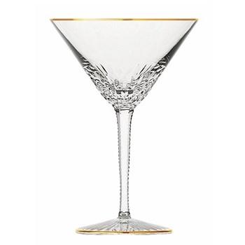 Apollo Cocktail glass, gold rim
