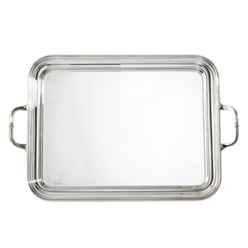 Rectangular tray with handles 29 x 21cm