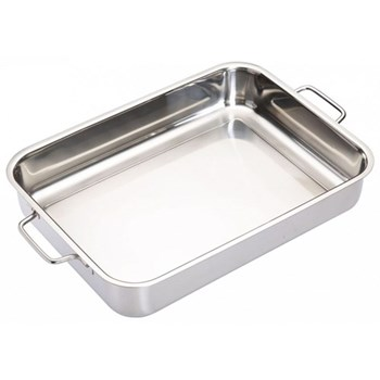 Master Class Deep roasting pan, 37 x 27cm, stainless steel