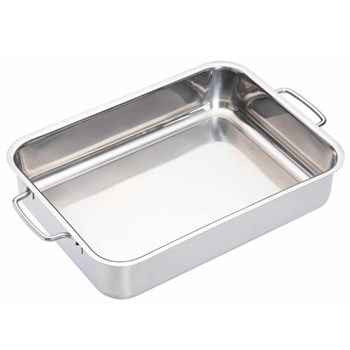 Master Class Deep roasting pan, 32 x 23cm, stainless steel