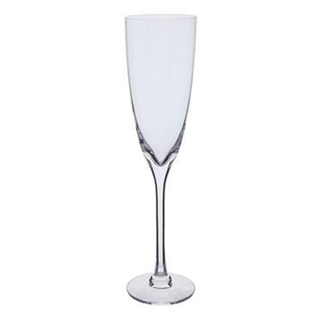Rachael Pair of Champagne flutes, H25cm - 25cl, clear