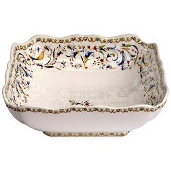 Square fruit bowl 24cm