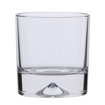 Pair of double old fashioned tumblers H9.6cm - 37cl