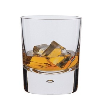 Pair of double old fashioned tumblers H10.5cm - 30cl