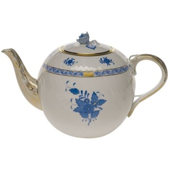 Teapot with rose handle 1.8 litre