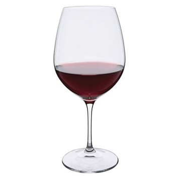 Wine Master Pair of Burgundy glasses, H23cm - 65cl, clear