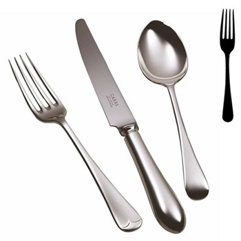 Old English Dessert fork, stainless steel