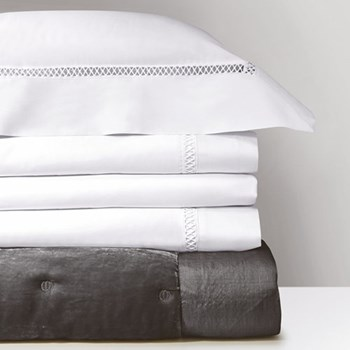 Walton Oxford pillowcase, 50 x 75cm, white