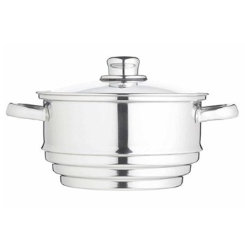 Clearview Universal steamer, stainless steel