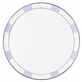 Galerie Royale Round tart platter, wallis blue