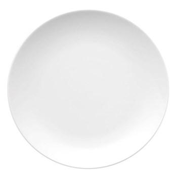 Medaillon Plate, 26cm, white