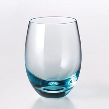 Solid Colour Tumbler, 25cl, aqua
