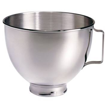 5K5THSBP Polished bowl with handle for mixer, 4.8 litre, stainless steel