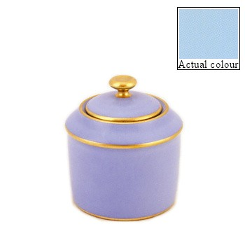 Sous le Soleil Sugar bowl straight sided, 20cl - 6 cup, opal with gold band