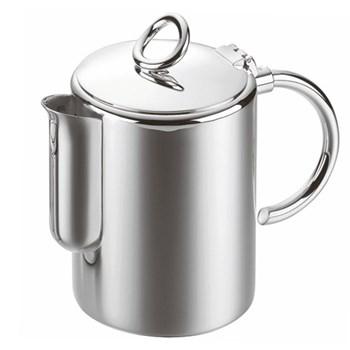 Vertigo Tea/coffee pot, 1 litre, Christofle silver