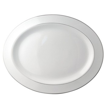 Oval platter 38cm