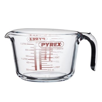 Pyrex Measuring jug, 1 litre, glass