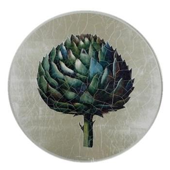 Artichoke Tablemat round, 27.5cm, silver leaf