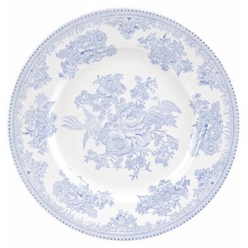 Asiatic Pheasants Dinner plate, 25.5cm, blue