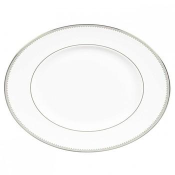 Vera Wang - Grosgrain Oval platter, 39cm