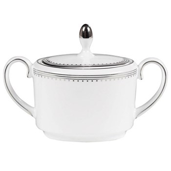 Vera Wang - Grosgrain Covered sugar bowl, 10cm