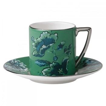 Jasper Conran - Chinoiserie Green Coffee cup, 7.5cl
