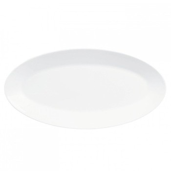 Jasper Conran - White Oval platter, 39 x 21.5cm