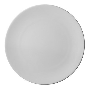 Pure Plate, 28cm, white bone china